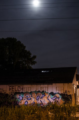 SIGH (Don't Sink) Tags: old 30 graffiti ol back long exposure do cops you south dirty mc dos crew sigh pigs tbk rule d30 mayhem mindcontrol nsf thirty fills trackside felch aest