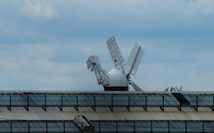 Holgate Windmill from the railway museum (2)