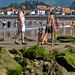 Playas para niños Asturias: playa de Ribadesella