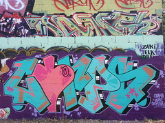 Corps (Faith LDN) Tags: london graffiti drops lavender corps lakers pinkpanther nappies trellick pinklemonade montanablack obamawarcriminal