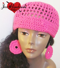 "Crochet Cotton Summer Hat • <a style=""font-size:0.8em;"" href=""http://www.flickr.com/photos/66263733@N06/9403546779/"" target=""_blank"">View on Flickr</a>"