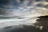 Lost in Light (Nick Twyford) Tags: longexposure newzealand clouds sunrise blacksand nikon waves wideangle auckland nz northisland westcoast earlymorninglight portwaikato colourimage leefilters 1024mm d7000 lee09nd lee06gndhard