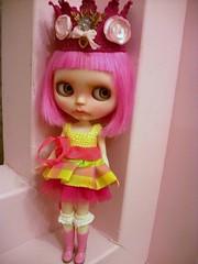 A Grumpy Princess.....