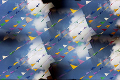 bunting (pho-Tony) Tags: camera color colour analog 35mm toy grid gold lomo lomography mod shiny 9 ishootfilm pop full plastic popart novelty filter lee multiple modified blender analogue 135 variations cheap gels gel pop9 variation monty array lenses fullmonty filmisnotdead multilens lomopop9 leefilters