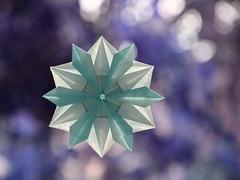 Snowflake (ronatka) Tags: snowflake star origami origamistar origamisnowflake dasaseverova harmonypaper