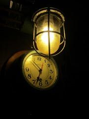 Clock in the Soldek