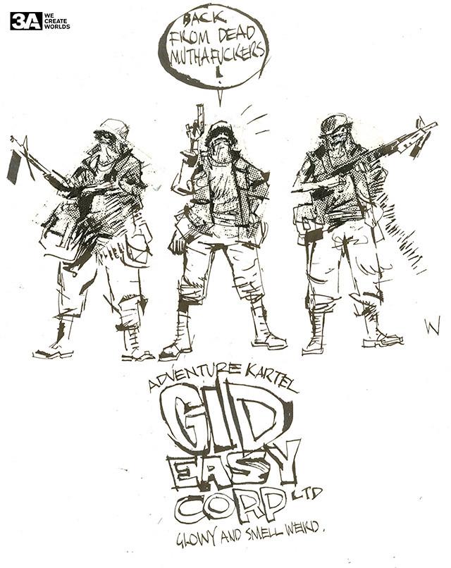 threeA – Adventure Kartel GID Easy Corp