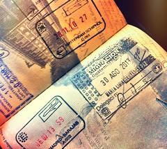 (icka) Tags: travel guatemala antigua passport iphone passportstamps 2013 august2013