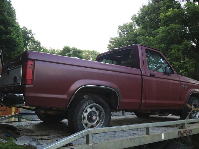 ford ranger sold pad hauling 1989 jul 0716 2013