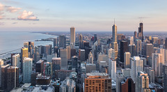 The Windy City (PhiiiiiiiL) Tags: city sunset sky p