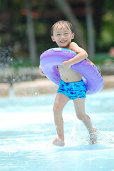 asian young boy (ARZTSAMUI) Tags: birthday old school boy portrait people white color cute male beach pool smile face childhood youth swimming asian fun happy person one kid healthy eyes funny day child close little background space young lifestyle health gift present years concept isolated