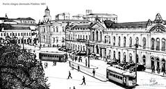 Porto Alegre Mercado Público 1951
