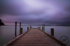 Dodges Ferry Jetty (James Griffiths Photography) Tags: canon landscape rainyday cloudy 7d tasmania tokina1117mm jamesgriffiths