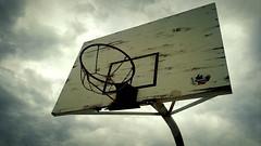 Basketball's Capital (MFPolako) Tags: park street parque people blackandwhite sports basketball hoop court capital places rim cancha basquet bahiablanca matiaspolako