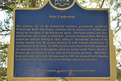 Fool's Paradise (Vickie Bowie) Tags: toronto nature scarboroughbluffs foolsparadise dorismccarthy