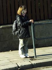 Little Gritl at Sidewalk (Kojotisko) Tags: brno cc creativecommons czechrepublic streetphoto fujifilmfinepix fujifilmfinepixsl1000 fujifilmfinepixsl1000kojotisko