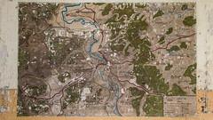 Une Carte de Meuse chez la Grande Muette (liryc30) Tags: vintage nikon peinture 55 lorraine carte meuse ancien fresque urbex vestige nikond3200 rétro d3200