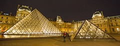 J77A0267 -- Pyramides of the Louvre by night (Nils Axel Braathen) Tags: paris night canon reflections louvre pyramide autofocus pyramidedelouvre canon5dmarkiii mygearandme mygearandmepremium mygearandmebronze mygearandmesilver mygearandmegold mygearandmeplatinum mygearandmediamond photographyforrecreationclassic