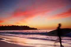 One blast (Heatwaves Australia) Tags: beach bondi sunrise movement surf sydney australia aaa pinks benbuckler