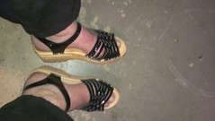 2014-02-22 19.10.42 (2moshoes) Tags: wood man black male men feet leather fun him shoe back toes toe legs sandals platform clogs sandal clog bastad backstrap