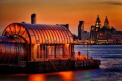 Sunrise Over Liverpool (Steve Rowell Photography) Tags: uk seascape liverpool sunrise river landscape unitedkingdom mersey photographyforrecreationeliteclub infinitexposure