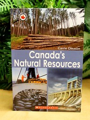 Canada's Natural Resources (Vernon Barford School Library) Tags: ocean new school lake canada nature up rock closeup forest river reading book high energy rocks close natural forestry library libraries lakes reads books read paperback soil cover rivers minerals junior land mineral covers bookcover oceans carrie middle vernon gleason forests recent resource bookcovers sustainable nonfiction paperbacks renewable renew resources canadas sustain barford softcover energies nonrenewable vernonbarford softcovers 9781443107952 canadacloseup
