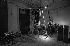 Getting ready for SOHO Night: Sabine Gruffat + Paul Geluso: A Kiss of The Earth - Installation Shots