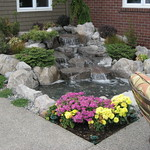 "Charming Water Feature by Greenhaven Landscapes <a style=""margin-left:10px; font-size:0.8em;"" href=""http://www.flickr.com/photos/117326093@N05/12994122395/"" target=""_blank"">@flickr</a>"