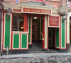 "The Glass Onion, Mathew Street, Liverpool • <a style=""font-size:0.8em;"" href=""http://www.flickr.com/photos/9840291@N03/13094118665/"" target=""_blank"">View on Flickr</a>"