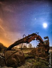 Construire le ciel... (jeje62) Tags: stars nightscape ciel nocturne dri hdr toiles