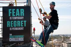 Pasadena 2014 Shatterproof Challenge (ShatterproofHQ) Tags: pasadena rappel fundraiser addiction rappelling shatterproof shatterproofchallenge