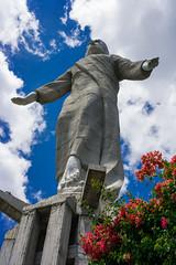 Jesus Christ Statue in Parque Naciones Unidas El Picacho (nan palmero) Tags: samsung honduras tegucigalpa missiontrip centralamerica centroamerica franciscomorazan samsungcamera nanpalmero nx300 mirrorlesscamera samsungnx300 imagelogger ditchthedslr