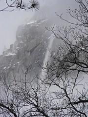 Yosemite Falls through the mist (desert11sailor) Tags: waterfall scenery awesome yosemite yosemitenationalpark geology absolutelystunningscapes