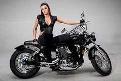 LRL_8692-web (doolittle-photography) Tags: shadow honda studio nikon models motorcycle fullframe fx vtwin alienbee d600 hondashadow alienbees 2485 nikond600 nikon2485 motorcycleswomen
