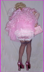 Emily-aft (emily_sheldon) Tags: stockings sissy poofy seams