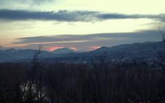 Mordor (damar47) Tags: trees sky mountains nature skyline alberi clouds landscape evening twilight nuvole pentax hills lotr bologna paesaggio darkclouds collina darksky mordor collibolognesi pentaxk30