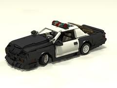 1992 Camaro B4C (rx79gez8gundam) Tags: california chevrolet highway lego camaro chevy chp patrol b4c chevroletcamarob4cchp
