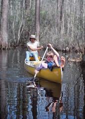 Canoeing in the Okefenokee (philipbouchard) Tags: water yellow georgia spring canoe canoeing relaxed paddling okefenokeeswamp charltoncounty stephencfosterstatepark