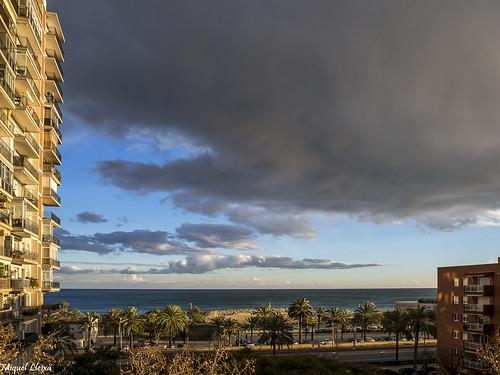 El núvols es preparen ...