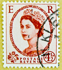 great stamp wilding 4 1/2D 4.5p Queen Elizabeth QEII royal pence penny Elisabeth england uk great britain united kingdom postage revenue    II 2,  ,  ,   II Elisabetta II ,    porto timbre bollo sello mark (stampolina) Tags: uk greatbritain portrait england postes unitedkingdom stamps retrato royal 45 queen stamp porto windsor crown portret timbre commonwealth postage franco qeii  queenelizabeth selo bolli queenelisabeth  sello wilding grossbritannien  briefmarken  markas  francobollo frimrker portr timbreposte francobolli bollo pullar  znaczki frimaerke   yupio  blyegek postacreti postestimbres