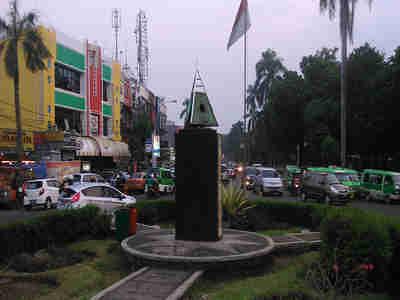 Kawasan Air Mancur Bogor