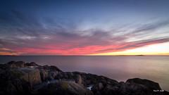 IMG_1401 (Karl P. Laulo) Tags: lighthouse norway sunrise norge fyr homborsund soloppgang