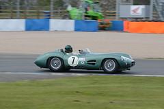 DSC_8754 - Aston Martin DBR1 (102er) Tags: auto uk classic cars car festival race racecar nikon racing historic tamron motorracing motorsport donington 70300 doningtonpark hscc d7000