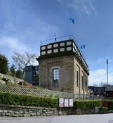 Restoration Man - Settle (Simon Caunt) Tags: panorama landscape yorkshire largeformat thegreatoutdoors oblong itsgrimupnorth vertorama welcometoyorkshire visityorkshire thelandofthelongwhitewhippet