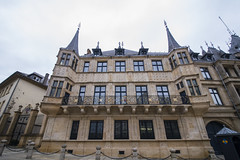 Palais Grand Ducal (herecomesanothersongaboutmexico) Tags: city architecture palace luxembourg luxembourgcity palaisgrandducal europetrip2016
