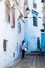 Chaouen streets (Pamela Sia) Tags: blue streets streetphotography chaouen chefchaouen arquitecture travelphotography