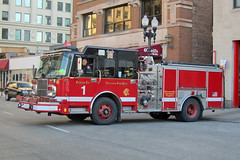 Chicago Fire Department. Engine 1 (RJACBclan) Tags: crimson spartan chicagofiredepartment engine1 chicagoengine1