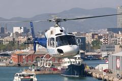 CFR1157 AS-355F-2 EC-JYJ (Carlos F1) Tags: nikon d300 lepb helipuerto heliport transporte transport aviación aviation helicoptero helicopter spotter spotting ecjyj aerospatiale as355f2 ecureuil cathelicopters barcelona spain rotor rotorcraft