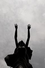 praying (fernandodelacabada) Tags: bw praying cult
