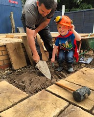 "When your nephew shows up on site PPE is a must, especially the cape!@wardensfencing showing him the ropes! #wardenstreecare <a style=""margin-left:10px; font-size:0.8em;"" href=""http://www.flickr.com/photos/137723818@N08/26887373901/"" target=""_blank"">@flickr</a>"